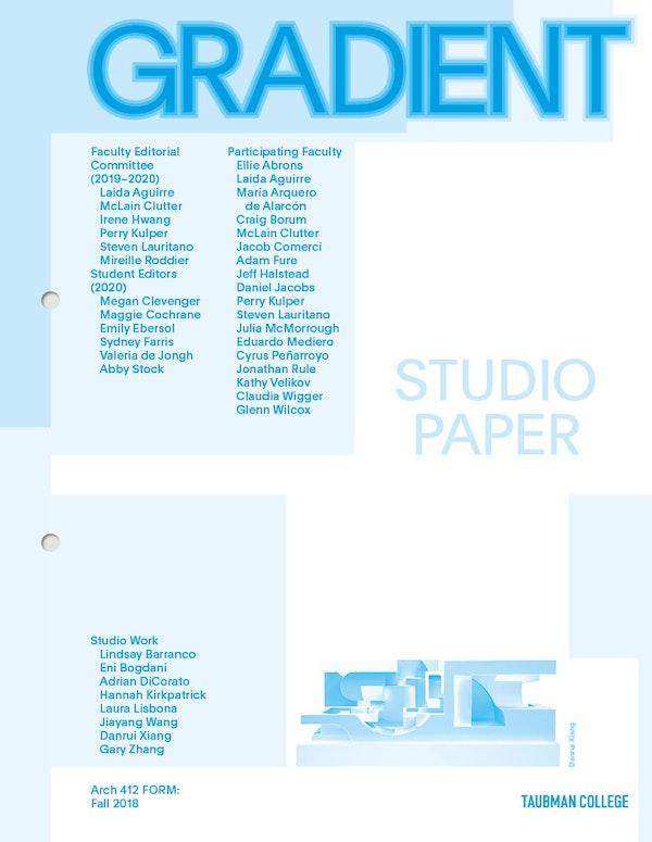 Gradient Studio paper Fure