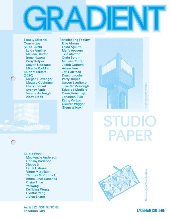 Gradient Studio paper Mediero