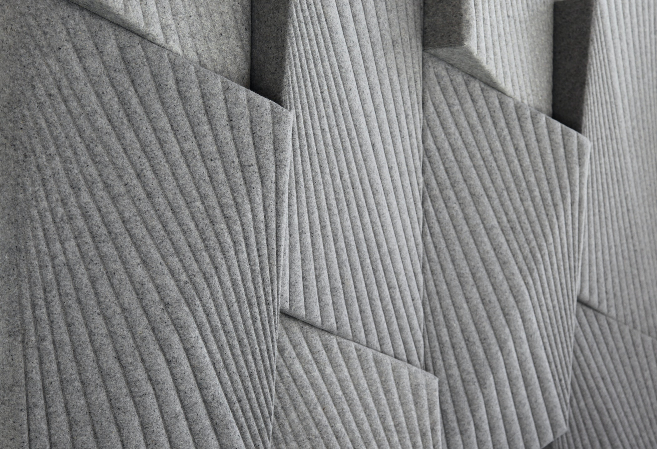 Quilted acoustic panels