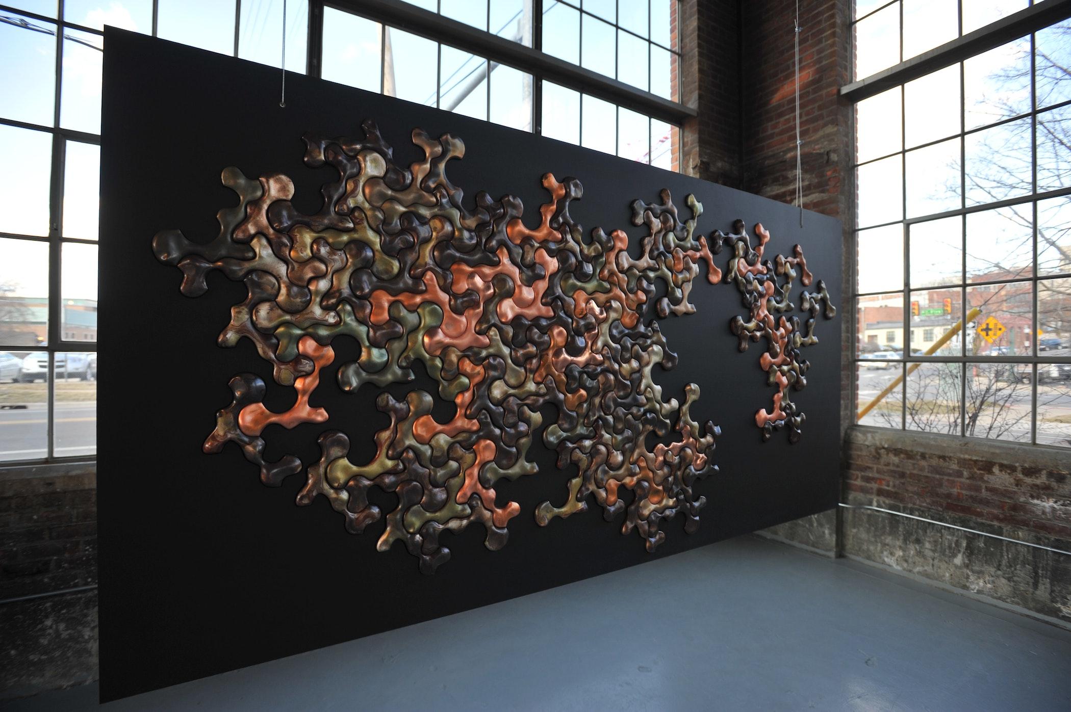 Electroform(alism) exhibit at Liberty Annex, Ann Arbor, MI 2014