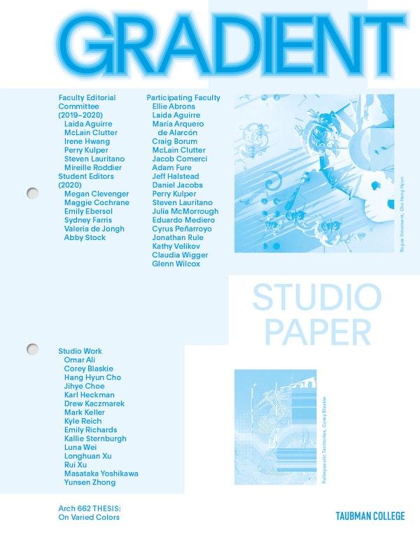 Gradient Studio paper Kulper